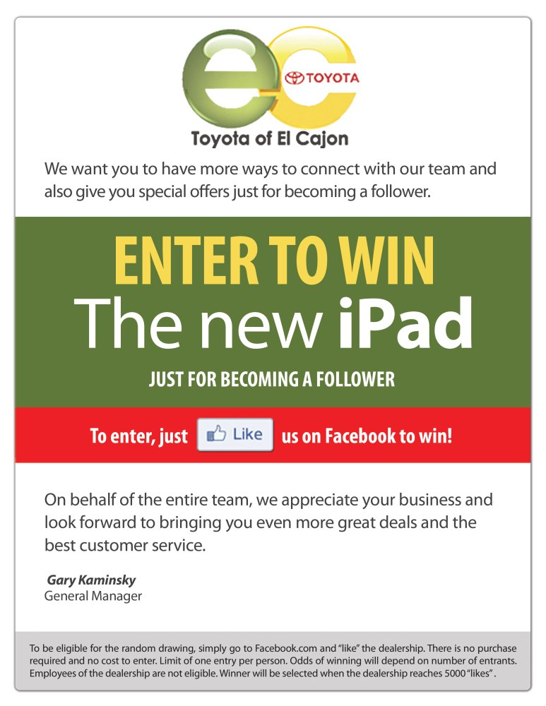 Win The New iPad!