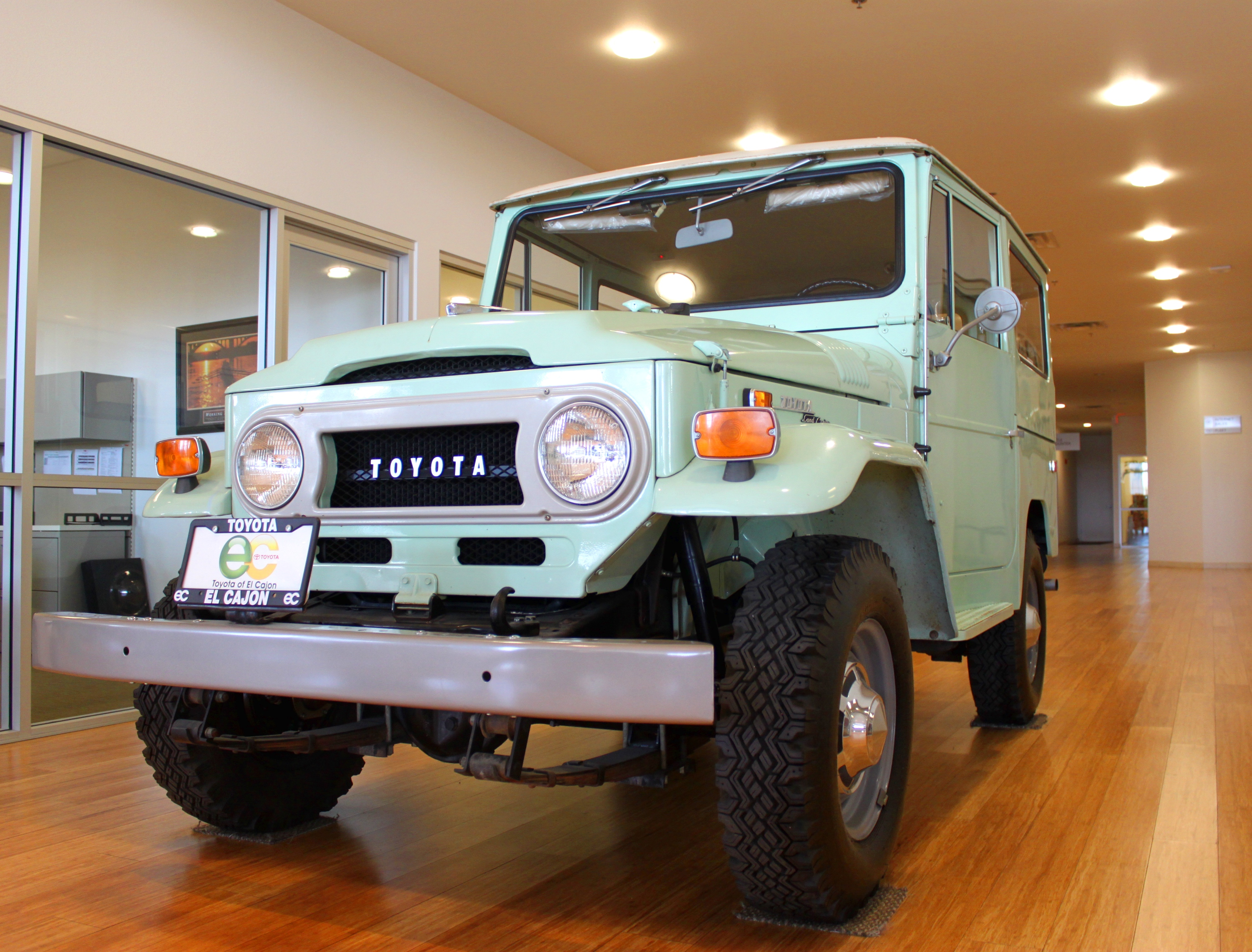 The 1970 Land Cruiser Fj40 Toyota Of El Cajon