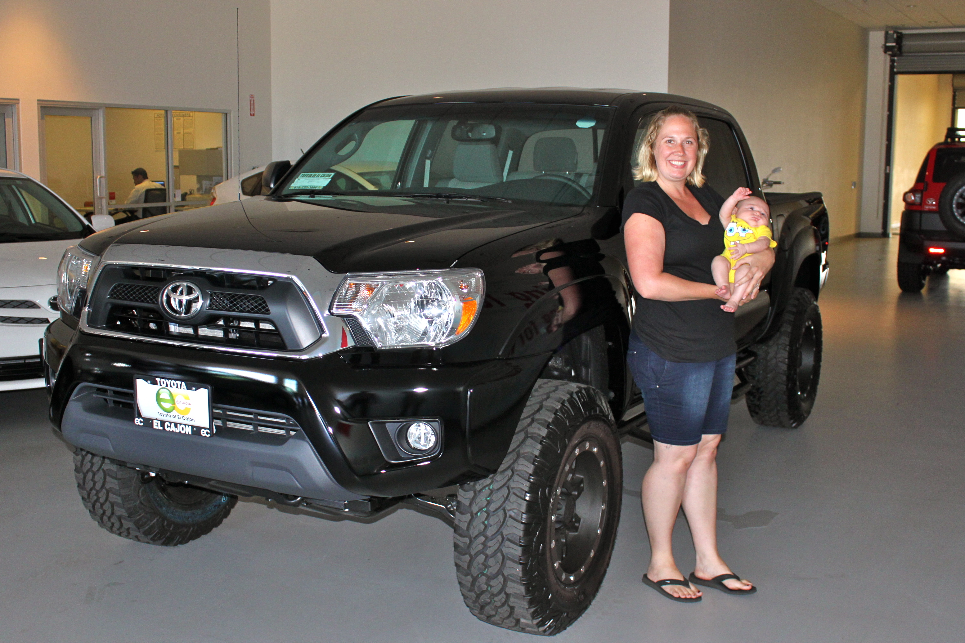 Jolene, Her Baby and a Lifted Truck | Toyota of El Cajon