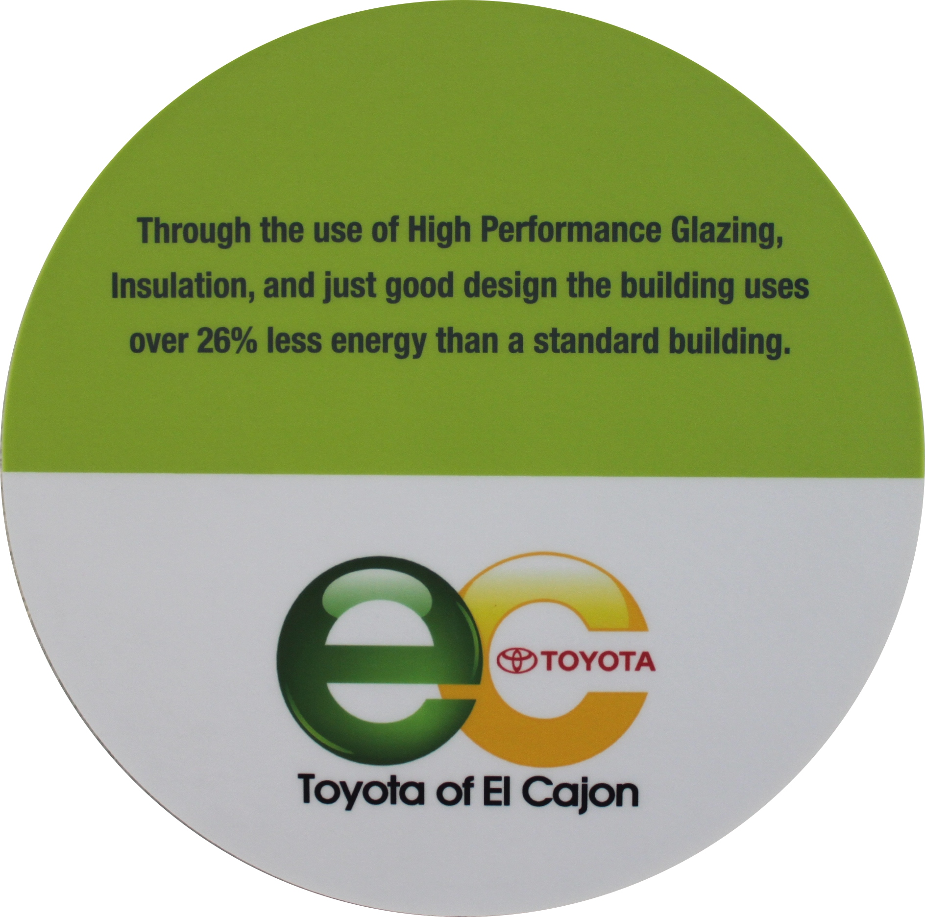 eco friendly facility fact 4 toyota of el cajon. Black Bedroom Furniture Sets. Home Design Ideas