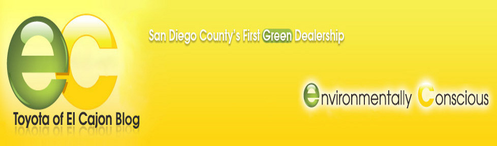 toyota of el cajon we went green to save your green. Black Bedroom Furniture Sets. Home Design Ideas