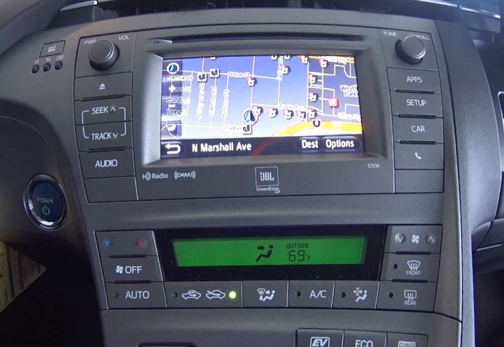 City Of El Cajon >> Navigation System 2015 Prius | Toyota of El Cajon