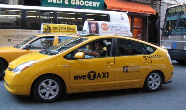 Prius taxi